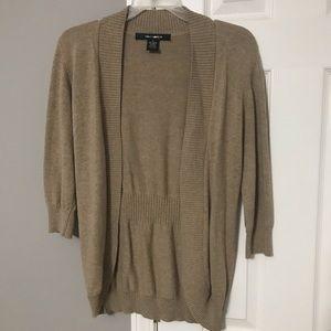 Women's 3/4 length sleeve sweater- Size S